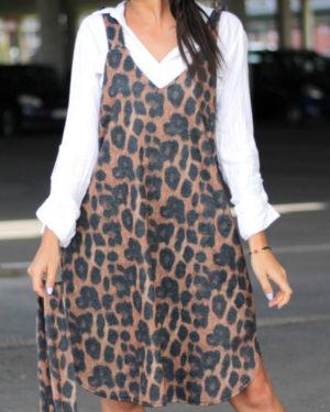 leopardo rasto suknele rastas